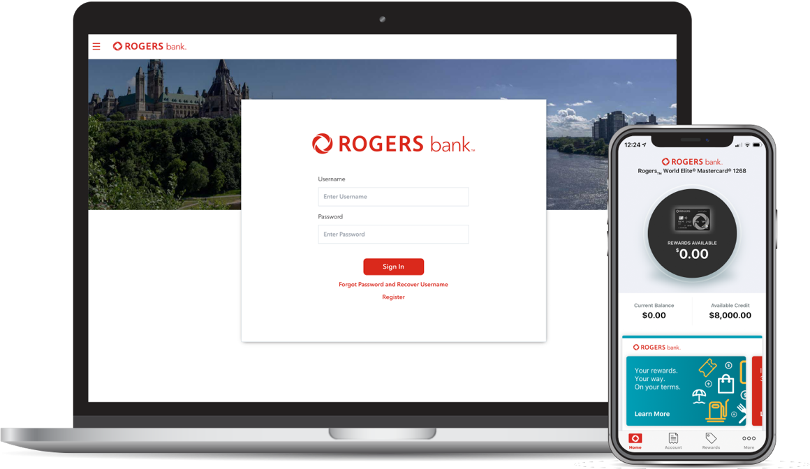 Rogers Bank Mobile App