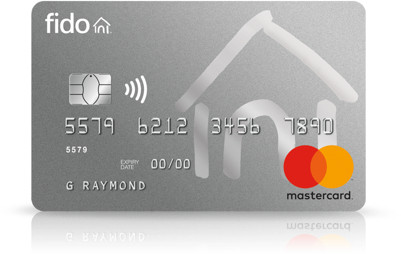 Fido Mastercard Cash Back Rewards No Annual Fee Rogers Bank