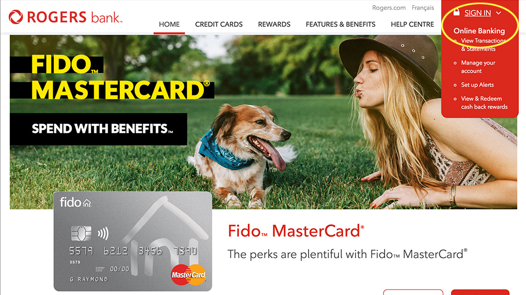 how to pay fido bill with rogers rewards