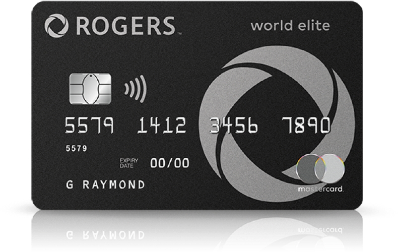 photo relating to We Accept Credit Cards Printable Sign called Rogers World-wide Elite Mastercard Money back again positive aspects, no once-a-year